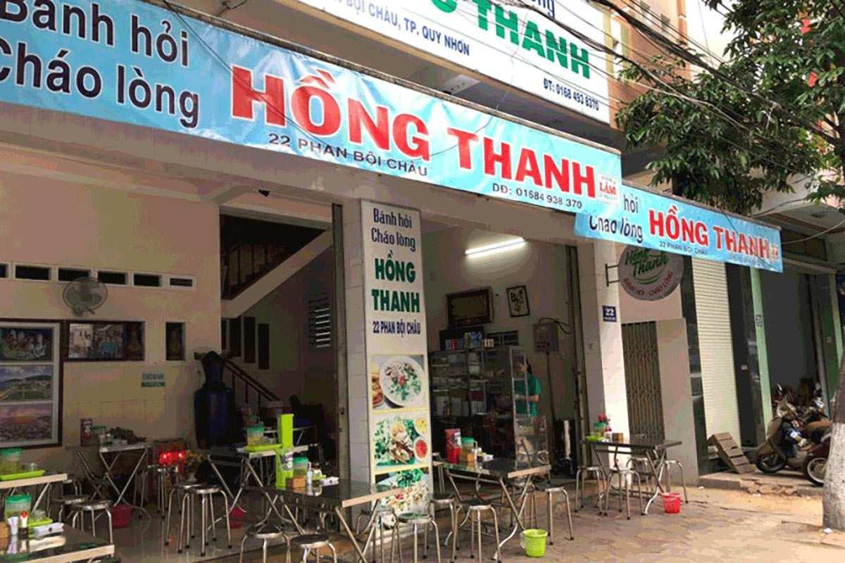 Banh hoi chao long hong thanh