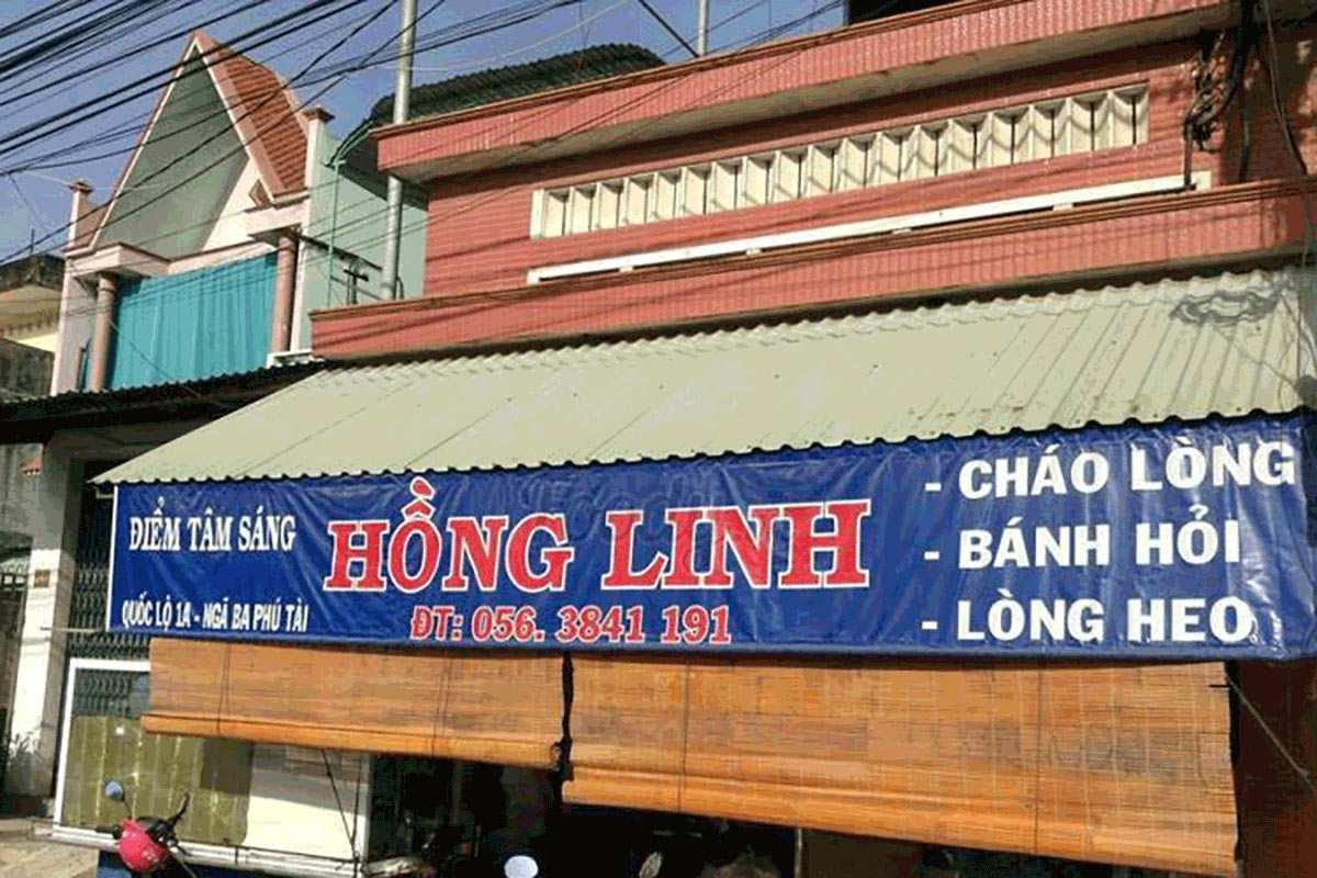 Địa chỉ quán bánh hỏi cháo lòng Hồng Linh