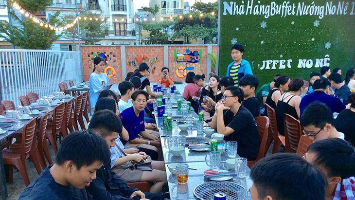buffet hai san Oscar Quy Nhon