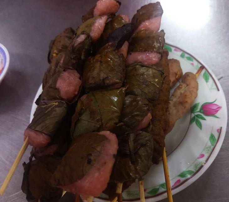 Nem chua nuong