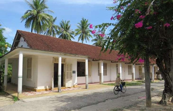 Trại Phong Quy Hòa, nằm gần khu du lịch Ghềnh Ráng Tiên Sa - Ảnh:ST