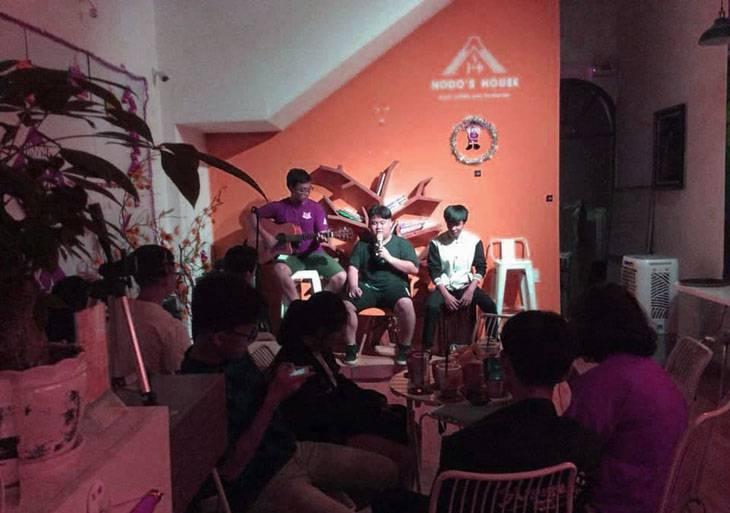 Hodo cafe một trong những địa điểm yêu thích của giới trẻ hiện nay - ảnh:ST