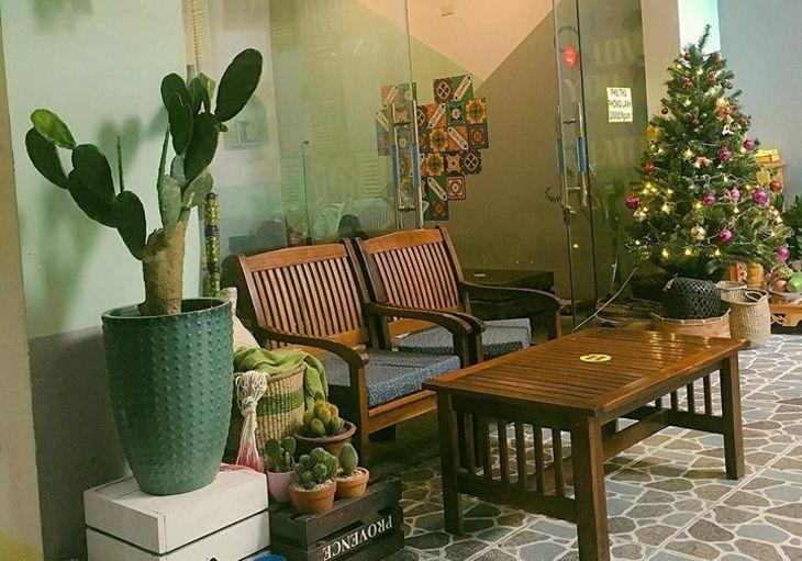 Không gian cổ điển, yên tĩnh tại Ngo cafe - Ảnh:FB