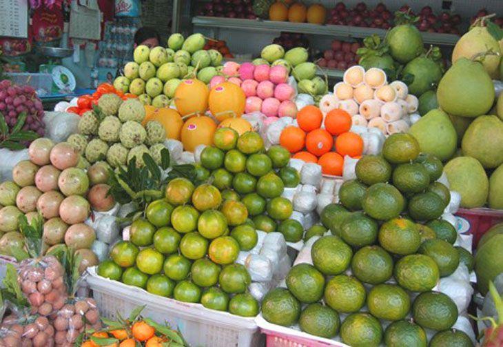 Cửa hàng trái cây sạch - Ảnh:ST