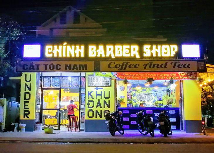 Barber shop Chính một trong những tiệm cắt tóc nam đẹp nhất ở Quy Nhơn - Ảnh: FB Barbershopchinh