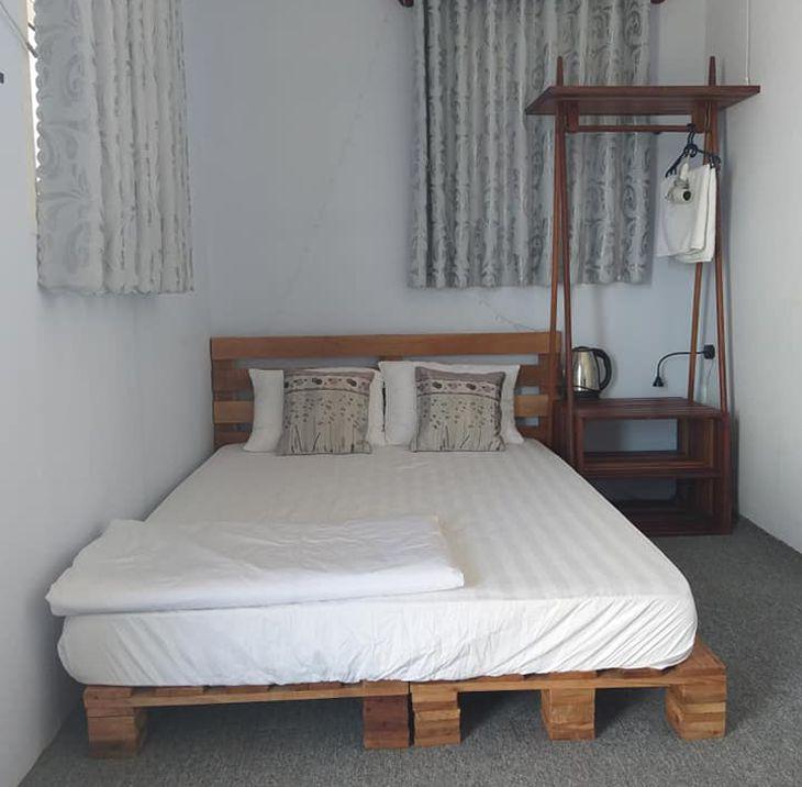 Giường ngủ êm ái và đầy đủ tiện nghi - ảnh:ST