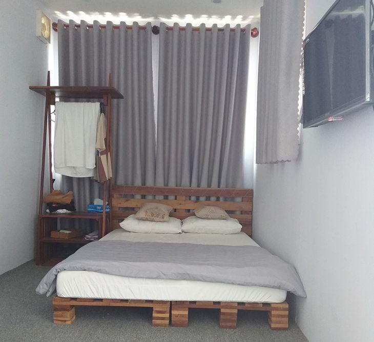 Phòng nghĩ hơi nhỏ nhưng cũng đủ để sinh hoạt nhé- ảnh:ST