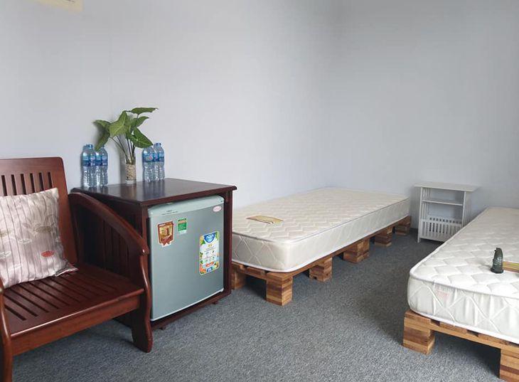 Mỗi phòng đều được trang bị đầy đủ tiện nghi và rất mát mẻ - ảnh:ST