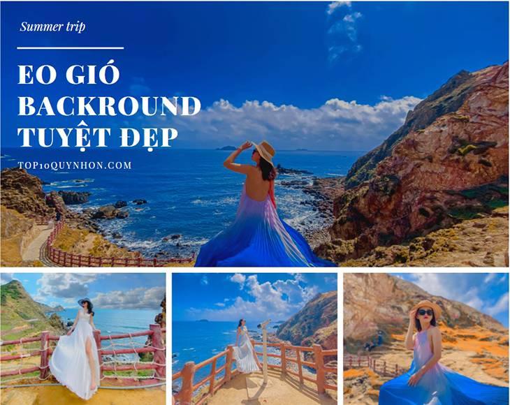 Eo Gió Quy Nhơn, Background tuyệt đẹp