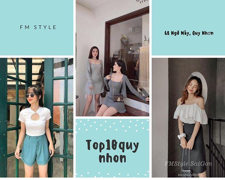 FM Style một trong những shop quần áo nữ đẹp ở Quy Nhơn
