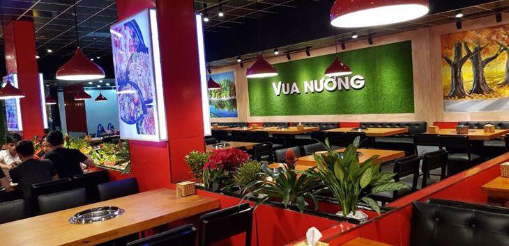 Nhà hàng Vua Nướng Quy Nhơn địa điểm đang rất hút khách gần xa - ảnh:ST