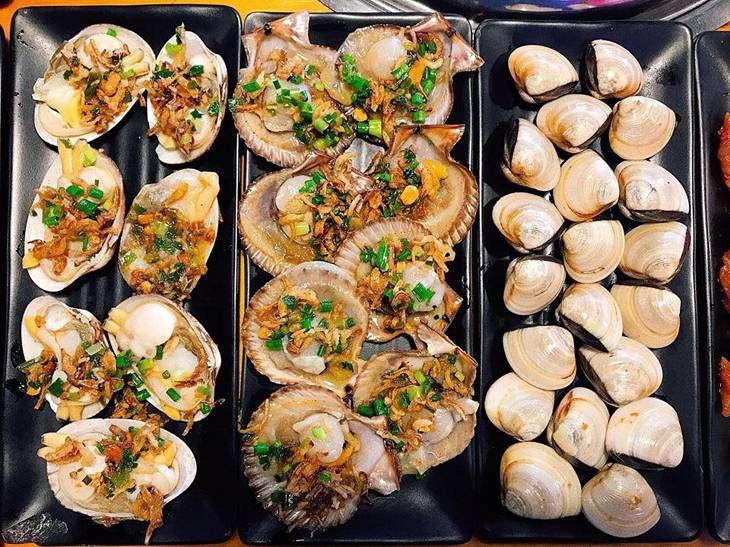 Menu du đa dạng, tươi ngon từ các món hải sản  - ảnh:ST