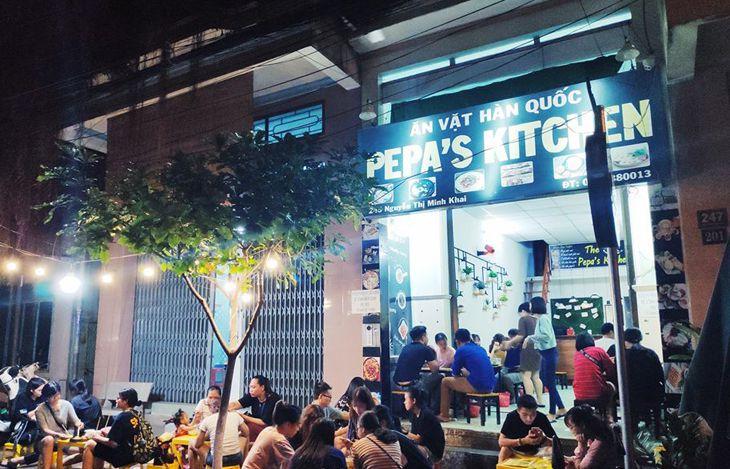 Pepa's Kitchen Quy Nhơn một quán ăn Hàn rất được giới trẻ Quy Thành yêu thích - ảnh:ST