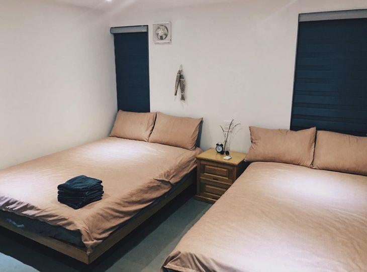 Phòng ngủ đầy đủ tiện nghi, và xinh đẹp - ảnh:ST