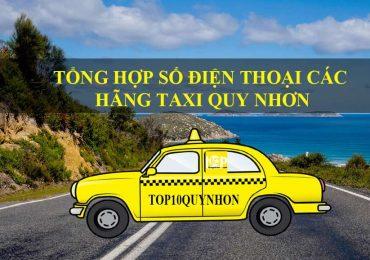 Tổng Hợp Số Điện Thoại, Bảng Giá Các Hãng Xe Taxi Quy Nhơn