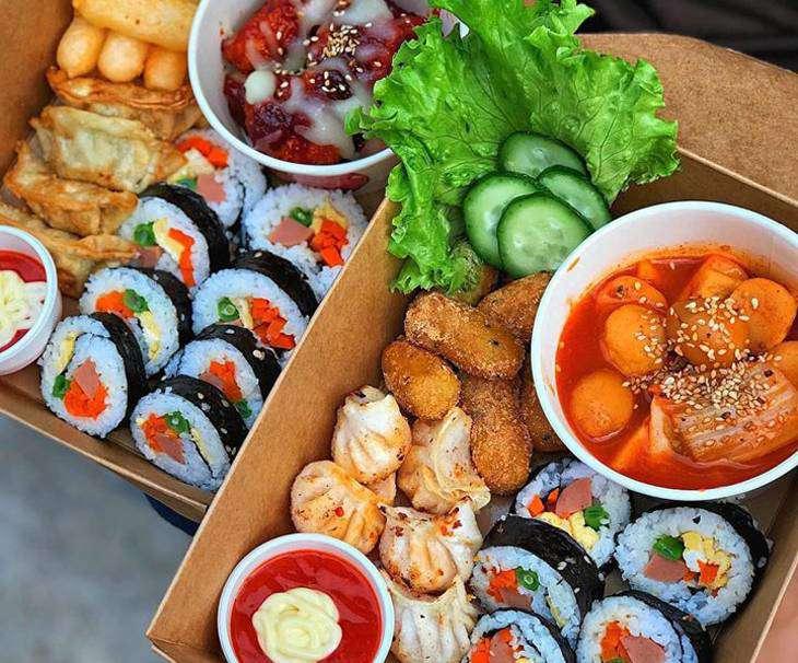 Các món ăn Hàn rất đặc sắc và đậm đà