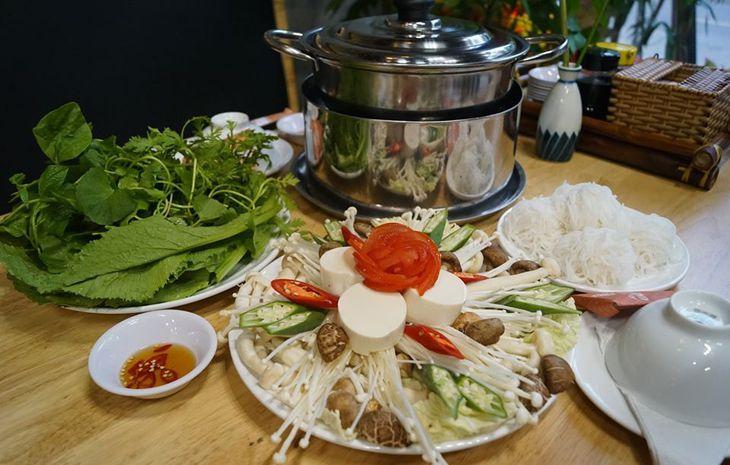 Ẩm thực chay Cát Tường là một trong những địa điểm ăn chay ngon nhất ở Quy Nhơn - Ảnh:ST