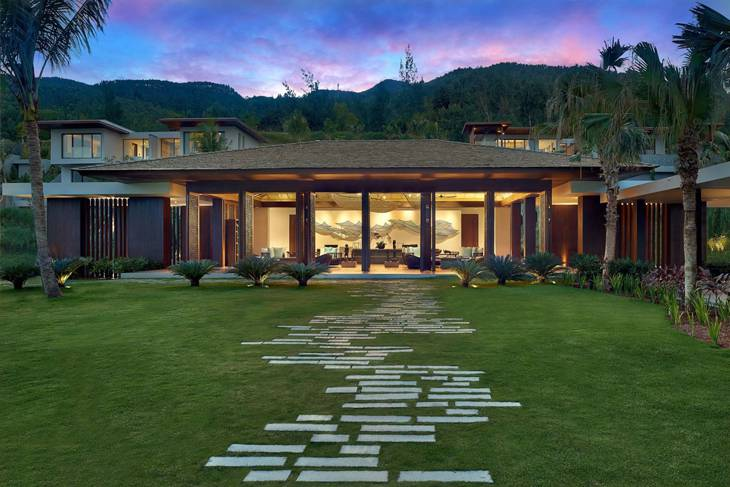 Kiến trúc sang trọng với 26 căn biệt thự sang trọng, mỗi căn đều có view hướng biển - Ảnh:ST