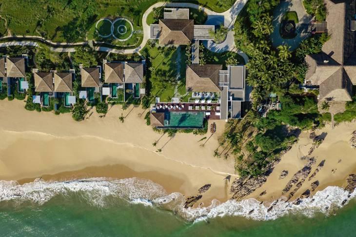 Anantara Quy Nhơn một Villas nỗi tiếng và đẹp ở Quy Nhơn tọa lạc gần khu du lịch bãi xếp - Ảnh:ST