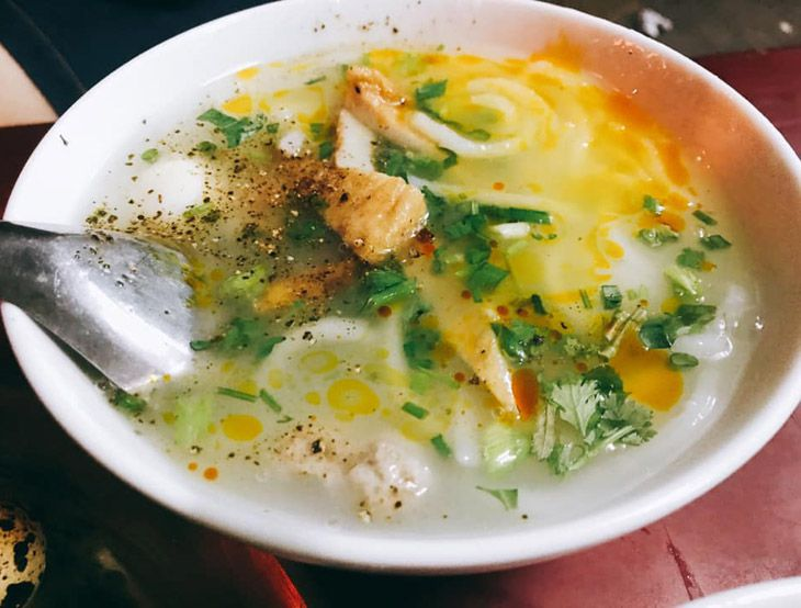 Bánh canh Nguyễn Du, quán bánh canh bột gạo ngon, rẻ ở Quy Nhơn - ảnh:ST