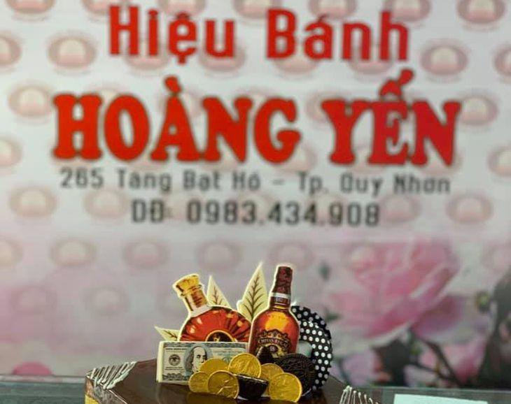 Tiệm bánh sinh nhật Hoàng Yến Quy Nhơn, địa chỉ mua bánh sinh nhật uy tín - Ảnh:FB Hoàng Yến