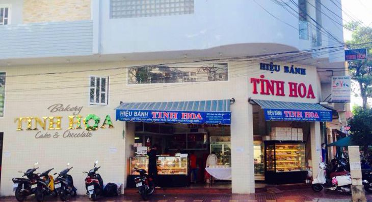 Tiệm bánh sinh nhật Tinh Hoa một trong những tiệm bánh ngon ở Quy Nhơn - Ảnh: Tinh Hoa Bakery