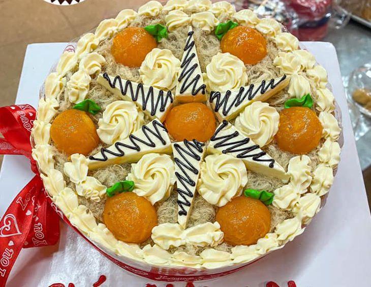Bánh sinh nhật rất ngon và đặc sắc - Ảnh: Tinh Hoa Bakery
