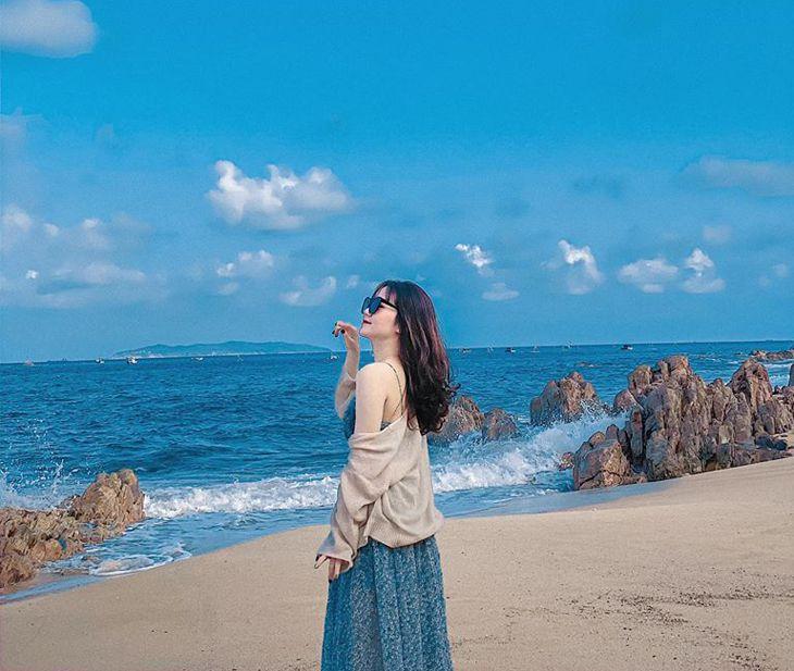 Cảnh biển thơ mộng ở Casa Marina Quy Nhơn - Ảnh:ST