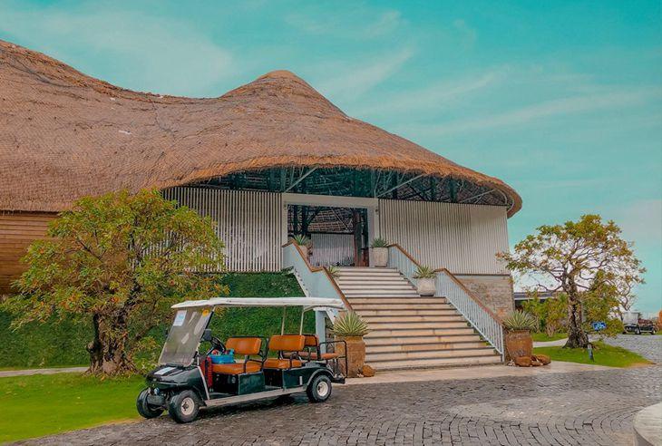 Casa Marina Quy Nhơn như một hòn đảo nhỏ xinh đẹp và êm ả - Ảnh:ST