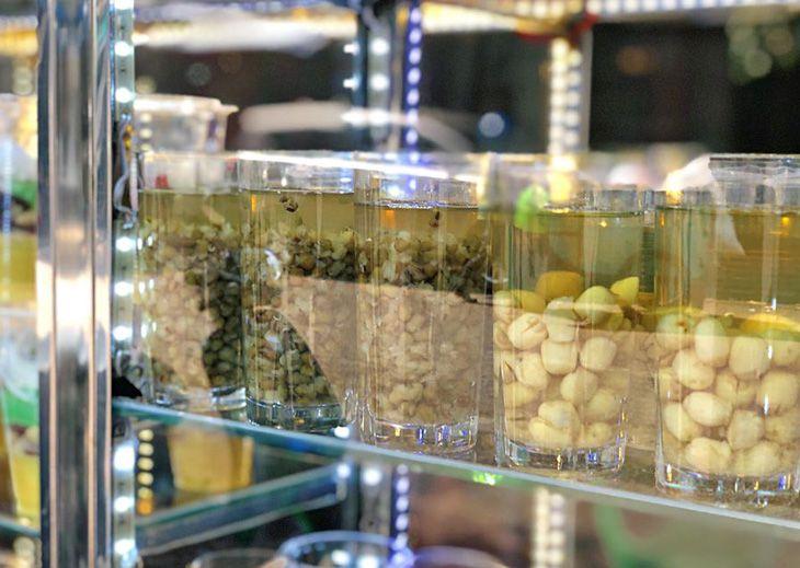 Quán Chè Bean Quy Nhơn, một địa chỉ ăn uống khá nỗi tiếng trong giới trẻ Quy Thành - Ảnh:ST