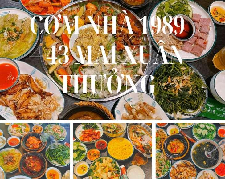 Cơm nhà 1989 là địa điểm ăn trưa rất được ưa chuộng