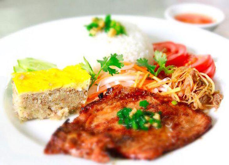 Cơm tấm Sài Gòn Express là một trong những quán cơm tấm đậm đà theo phong cách Sài Gòn - Ảnh:ST