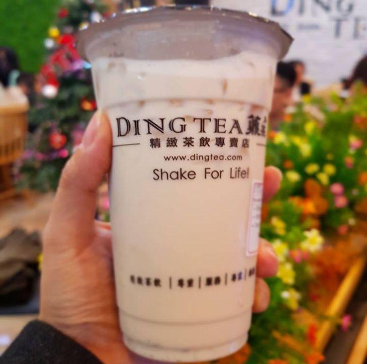 Trà sữa Ding Tea Quy Nhơn, một trong những thương hiệu trà sũa nỗi tiếng đã có mặt tại Quy Nhơn - Ảnh: Quynhondiscovery