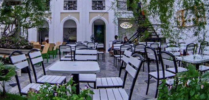 Quán cà phê friendship cũng là một trong những địa chỉ hay ho, yên tĩnh để học bài - Ảnh:ST