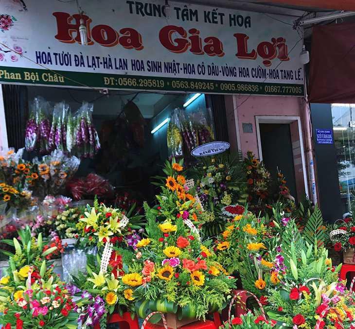 Shop hoa tươi Gia Lợi Quy Nhơn, là shop hoa lâu đời và nỗi tiếng - Ảnh:ST