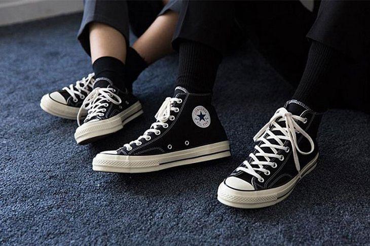 Converse một thương hiệu đã rất đỗi quen thuộc trong thế giới giày - Ảnh: ST