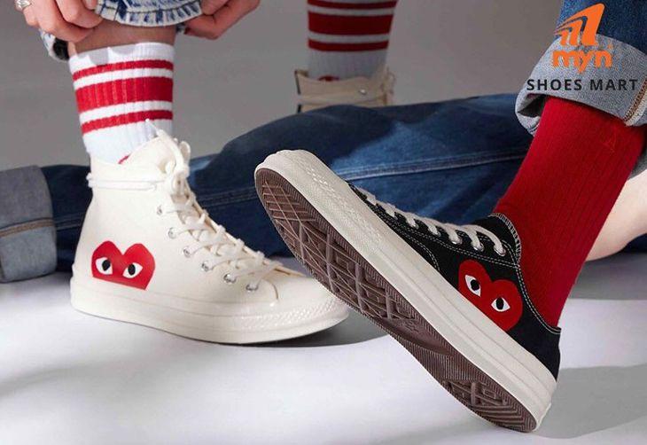Giày thể theo rất chi là phong cách xịn xò nhé - Ảnh:ST