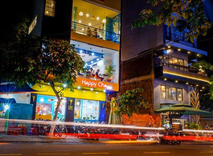 Happy Cha tọa lạc tại 138 Ngô Mây và rất gần trường đại học Quy Nhơn - Ảnh:ST