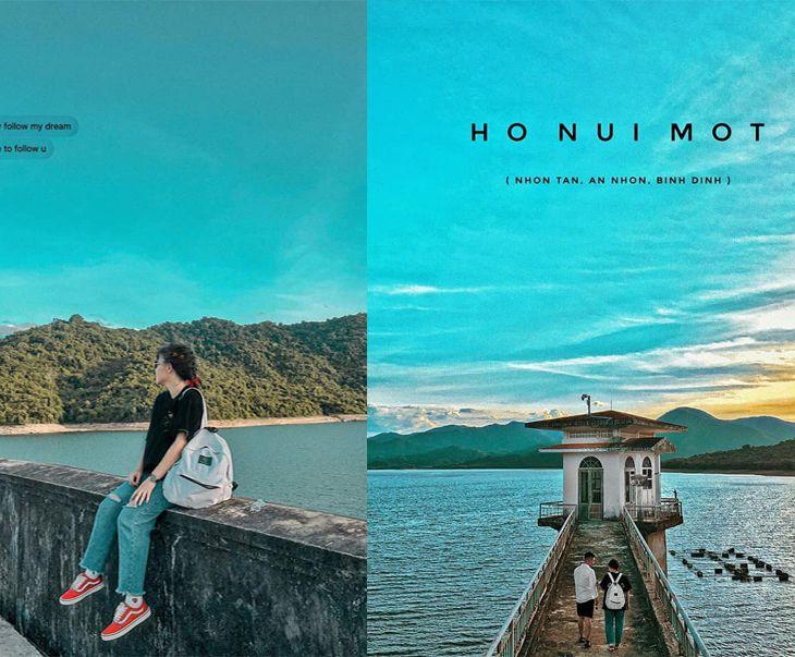 Hồ núi một Bình Định thơ mộng như một Hồ Tuyền Lâm của Đà Lạt