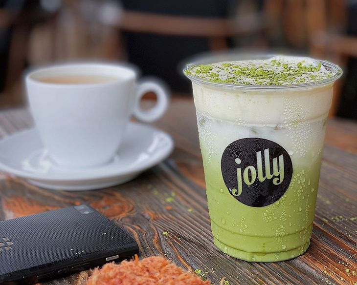 Hấp dẫn với món trà sữa ở Jolly Kem Tự Chọn - Ảnh:ST