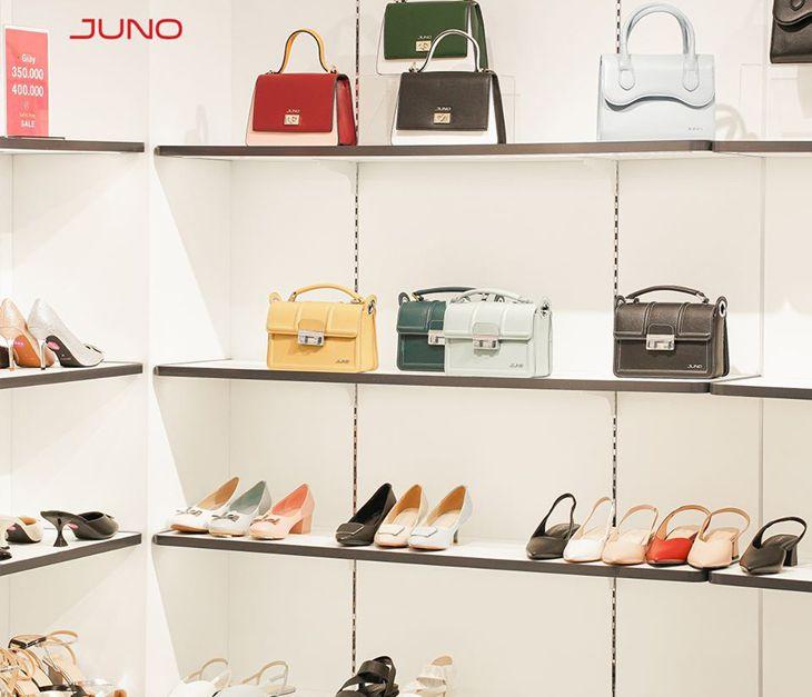 Rất nhiều mẫu giày được ưa chuộng ở Juno Quy Nhơn - Ảnh:ST