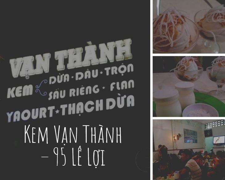 Quán kem Vạn Thành là quán kem lâu đời và rất được yêu thích ở Quy Nhơn - Top10quynhon.com