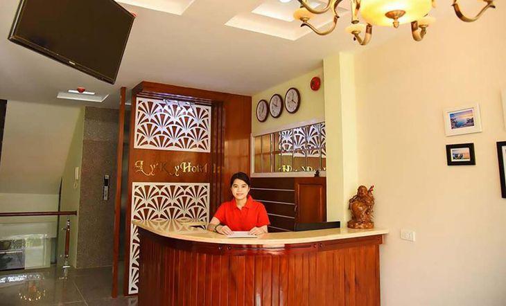 Tọa lạc trên đường Nguyễn Lạc là khách sạn 2 sao có view biển đẹp ở QUy Nhơn - Ảnh:ST
