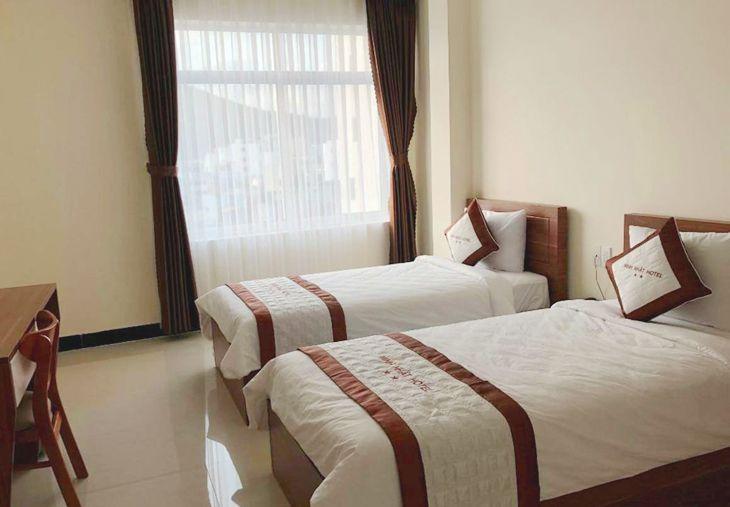 Khách sạn Minh Nhật Quy Nhơn, tọa lạc trên đường Xuân Diệu vị trí đẹp ven biển - Ảnh:ST