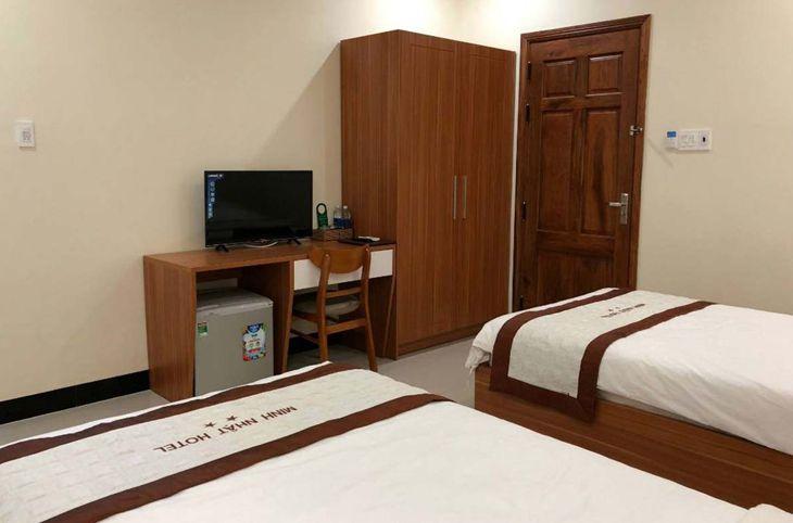 Phòng ngủ đơn giản, nhưng rất đầy đủ tiện nghi và sạch sẽ - Ảnh:ST