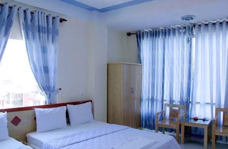 Phòng nghỉ 2 giường của khách sạn Yến Vy 32 - Ảnh:ST