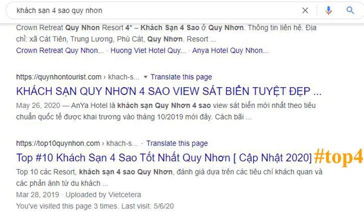 Mảng khách sạn Quy Nhơn, mức độ cạnh trạnh cực khó ở Quy Nhơn