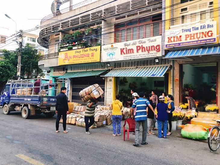 Cửa hàng Kim Phụng là một trong những cơ sở cung cấp hoa tươi lớn nhất nhì ở Quy Nhơn - ánh:ST