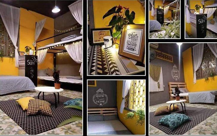 Các phòng ngủ ở Lặng Homestay đều được thiết kế chỉnh chu tỉ mỉ - ảnh: Facbook