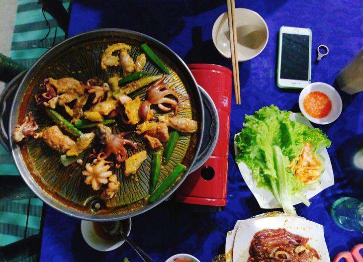 Món nướng trong combo chỉ 150k - Sơn Ca - Top10quynhon